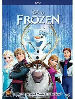 The DVD Of The Film Frozen For Children Is A Beautiful Video In English Nice .