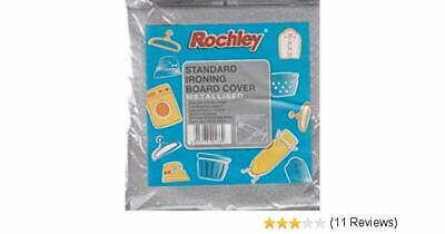 Rochley Metallised Ironing Board Cover 102 cm x 43 cm