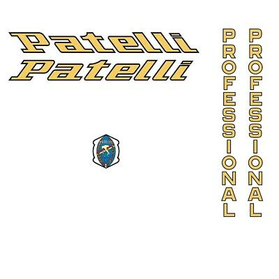 Stickers n.1 Patelli Bicycle Decals Transfers
