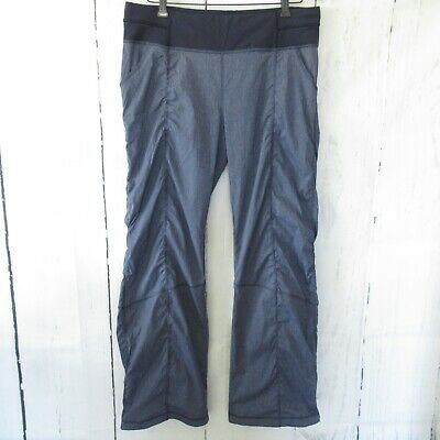 bcb7e39fae305 Lucy Activewear Pants L Large Blue Get Going Studio Ruched Yoga Athleisure