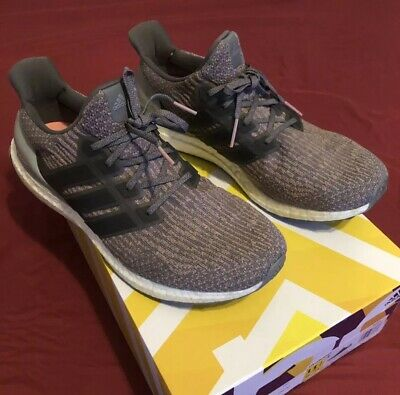 031653d44e519 Mens Authentic Adidas Ultra Boost 3.0 Trace Pink 11.5 Running Shoes S82022