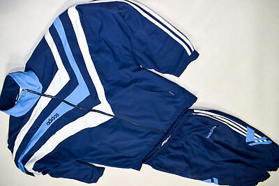 Adidas Trainings Anzug Jogging Track Jump Shell Suit Vintage Casual Grafik 90s M