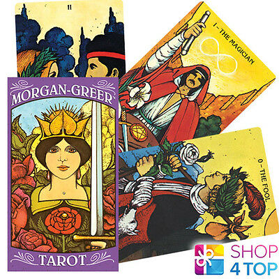 Morgan Greer Tarot Cards Deck Esoteric Telling Us Games Systems New