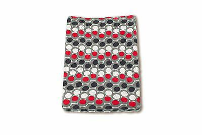 Baby Boum Terry Changing Mat Cover with Abstract Spotty Design (Pingu Grey, Sisk