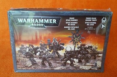 GW Citadel Warhammer 40,000 40K Chaos Space Marines Brand New Sealed 10 figures
