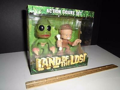 Funko - Land of the Lost - Wacky Figure Set - Funko Force - Sleestak & Chaka