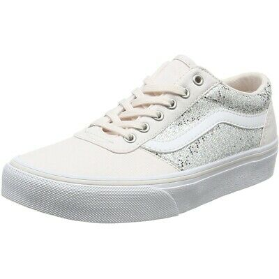 7b78e8ea7b VANS MY MADDIE Glitter Multi Pink Textile Youth Trainers -  53.10 ...