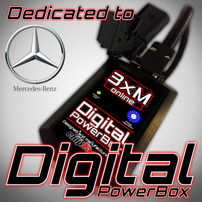 PERFORMANCE POWER CHIP Box Tuning to Mercedes C220 W203 2 2