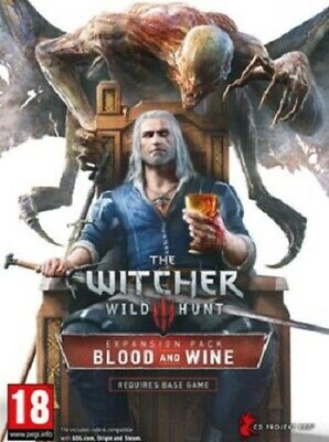 The Witcher 3 Wild Hunt: Blood & and Wine (PC Expansion Pack) DLC Download Code