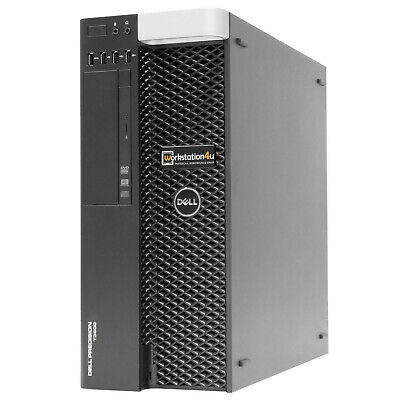 8-Core Dell T3600 Workstation Xeon E5-4650L 32GB RAM SSD 120GB HDD 1TB W10 B-W