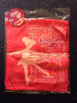 Job Lot Of 10 Angelina Ballerina New Childs Gym Bag New With Tags.