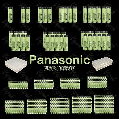 Panasonic 18650 3400mAh Flat Top Rechargeable Battery / NCR18650B / Wholesale