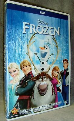 FROZEN (DVD, 2014, Widescreen) Nr-MINT! Authentic Disney Release! USA