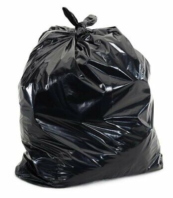 Super Value Heavy Duty Contractor Trash Bag, Extra Thick and Puncture Resistant