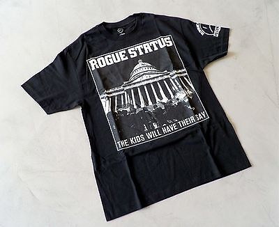 Rogue Status Razor DTA T-Shirt in Black Large THE KIDS WILL HAVE THEIR SAY 0c4bba627ee6