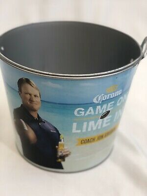 New Corona Extra Game On Lime In Coach  Gruden Beer Ice Bucket