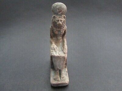 NILE  Ancient Egyptian Sekhmet Amulet  ca 600 BC