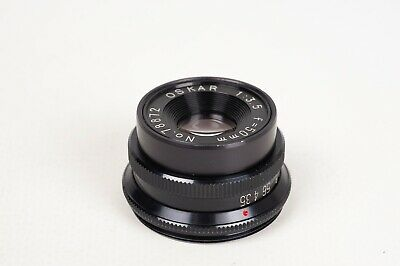 Objetivo ampliadora Oskar 1:3.5 50mm / Enlager Lens - 39mm screw mount