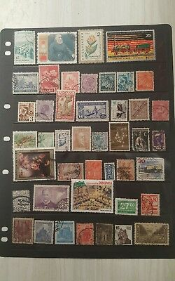 stamps  World Mixture - MH and Used - Lot 496