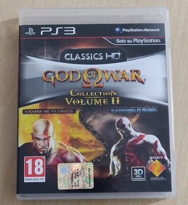 Ps3 God Of War Collection Volume 2 Playstation 3 Italiano Completo Come Nuovo