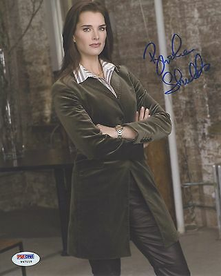 Brooke Shields Signed Autographed 8x10 Photo PSA/DNA COA