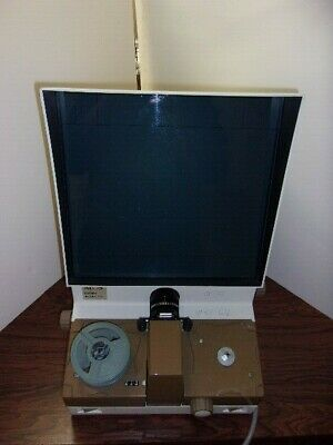 ALOS 22E MOTORIZED 16mm MICROFILM READER