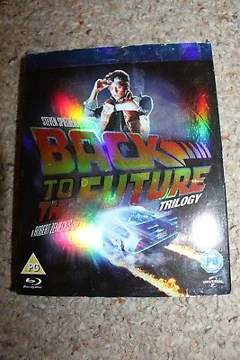 Back to the Future Trilogy (Blu-ray Disc, 2012, 3-Disc Set) Region 2 UK