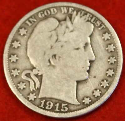 1915-S Barber Half Dollar G Beautiful Coin Check Out Store Bh276