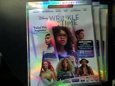 A Wrinkle in Time (2018) (Blu-ray Only) Opened Unwatched
