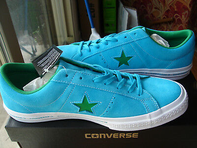 d13f2504e40d CONVERSE ALL STAR Pro Leather Vulc Mid Blue Mens Trainers blue Suede ...