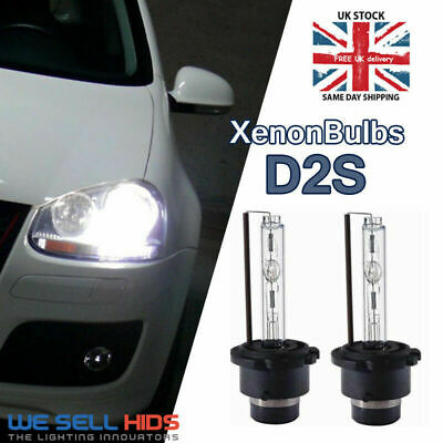 2 x D2S Genuine XENON BULBS HID compatible 85122 66040 66240 53500 pair replace