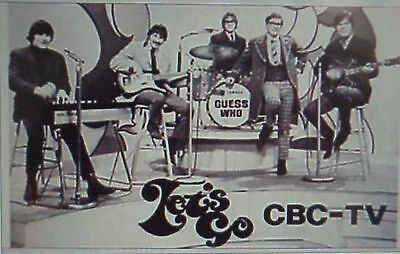 RARE DVD SET = LET'S GO (1960s Music CBC-TV) w/case   (NOT FROM TV RERUNS)