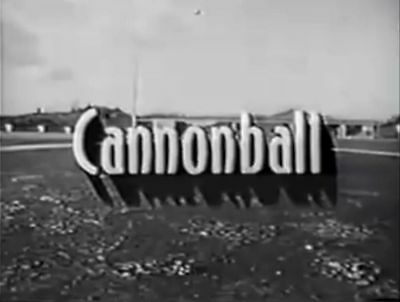 RARE DVD SET = CANNONBALL (1958 CBC Trucking Show) w/case (NOT FROM TV RERUNS)