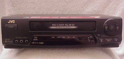 JVC HR-A53U === HiFi Stereo Video Cassette Recorder (VCR) with Remote Control