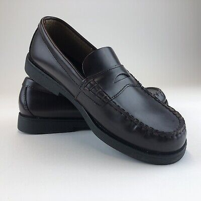 803f0790cba SPERRY TOP SIDER Dress Shoes Boys Size 3M Colton Black Leather Penny ...