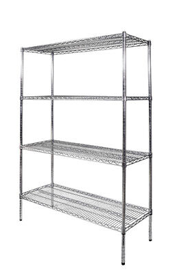 Wire shelving 1200mm rack for retail shop BRAND NEW Zinc coated
