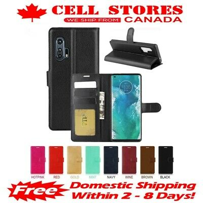Leather Magnetic Card Slot Wallet Flip Cover Case for Motorola Moto G & G4 Plus