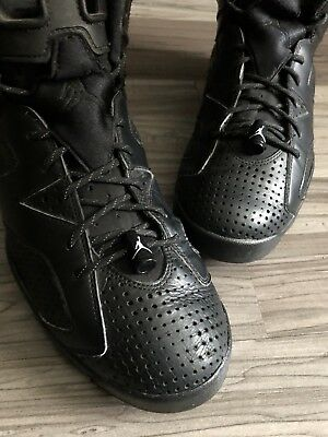 f972b01476d NIKE AIR JORDAN Retro VI 6 Black Cat Men s Size 7-11 Black White ...