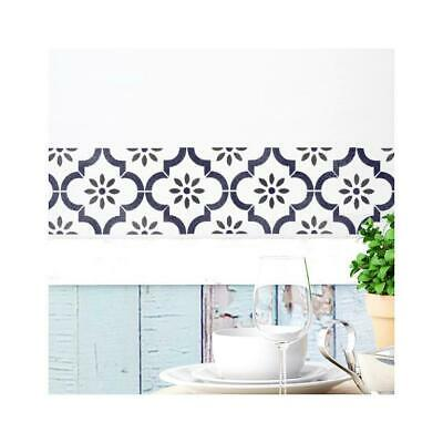 Jannah Border Wall Furniture Floor Stencil for Painting
