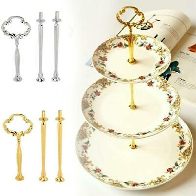 3 Tier Glass Ceramic Cake Stand Afternoon Tea Wedding Plates Party Tableware UK