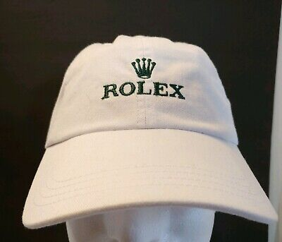 6f2d08c3962 Rolex Watch Off White Strapback Baseball Cap Green Embroidered Logo  Excellent