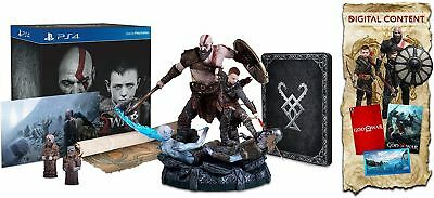 God Of War Collector'S Edition Sony Playstation 4 Ps4 Brand New !