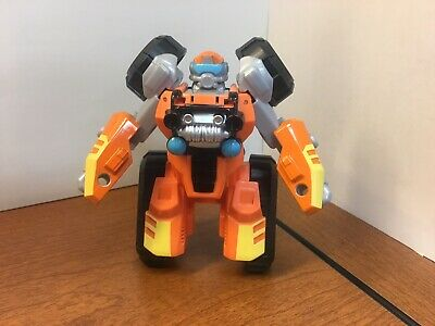 New PLAYSKOOL HEROES TRANSFORMERS RESCUE BOTS BRUSHFIRE ATV AutoBots 2 Modes