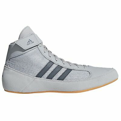 adidas Havoc Mens Adult Wrestling Trainer Shoe Boot Grey