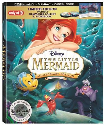 The Little Mermaid 30th Ann Signature Collection(4K) Target Excl w book