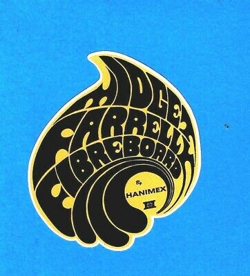 """FIBERBOARD HANIMEX"" RETRO Sticker Decal MIDGET FARRELLY 1960s LONGBOARD SURFING"
