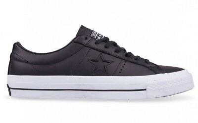 3729711530ef Converse One Star OX Leather Black Low Top Men s Shoes Size 9 US 153714C