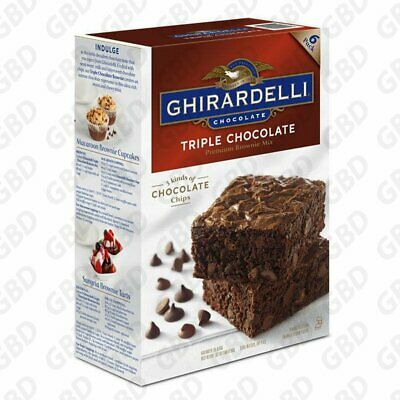 Ghirardelli Triple Chocolate Brownie Mix 3.4 kg (6 Batches)