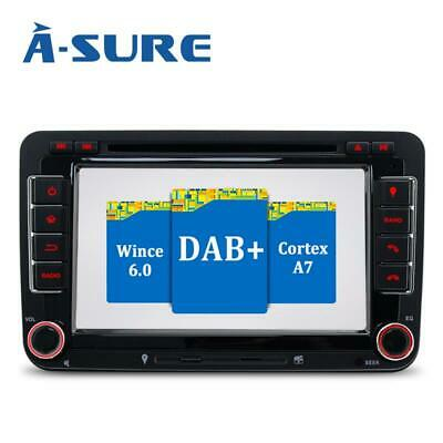 Multimedia GPS NAVI CD DVD Autoradio DAB für VW Passat 3C B6 Touran Polo Skoda