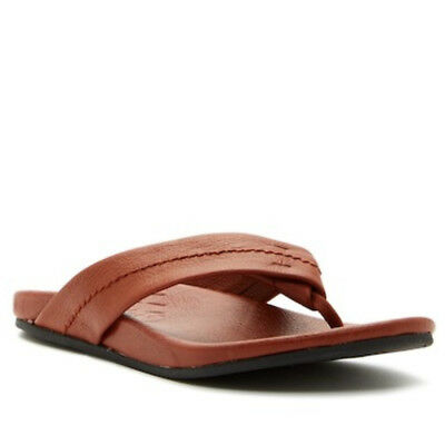 3845c3b936 New TOMS Men's Semana Leather Flip Flop Sandals - SZ 10
